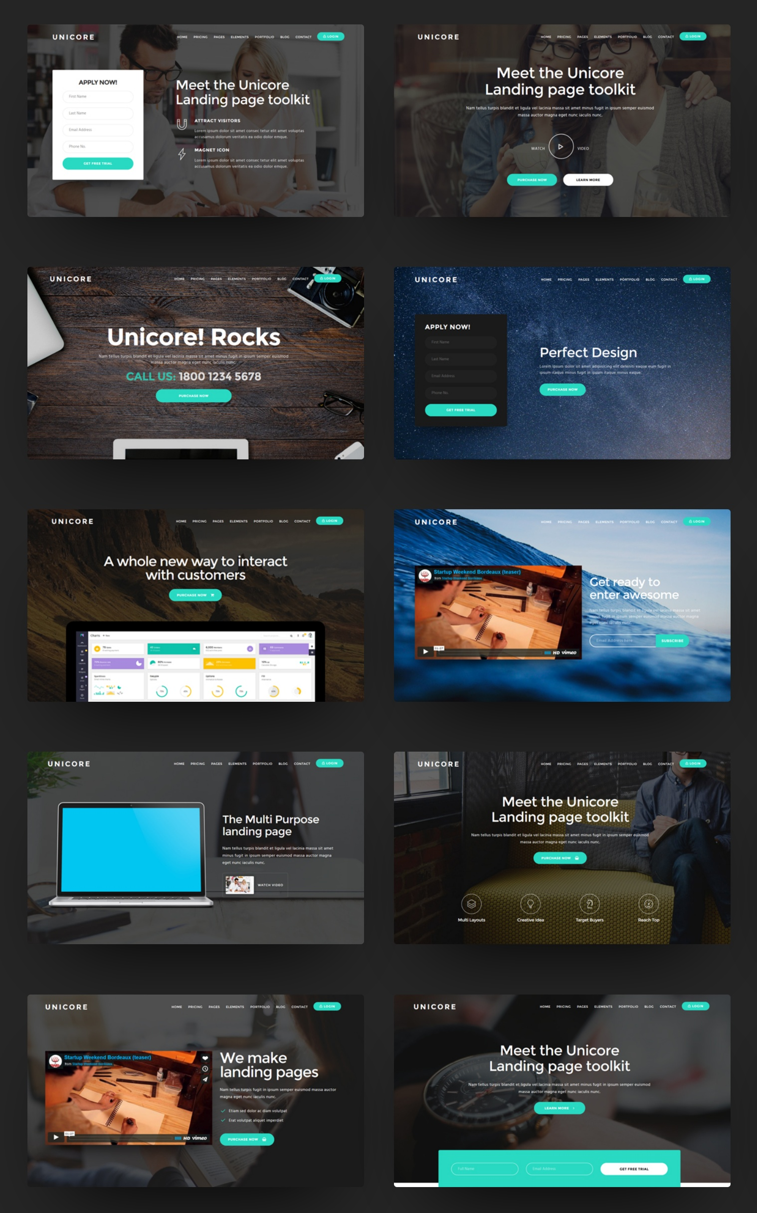 Free Bootstrap Agency Theme Download